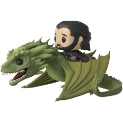 FUNKO POP! JON SNOW AND RHAEGAL N°67