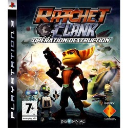 RATCHET ET CLANK OPERATION DESTRUCTION OCC