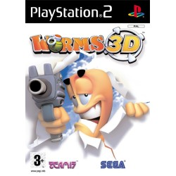 WORMS 3D PS2