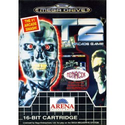 T2 THE ARCADE GAME COMPLET BE MEGA DRIVE