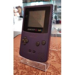 GAME BOY COLOR VIOLETTE ECRAN NEUF LEGER SUN FADE