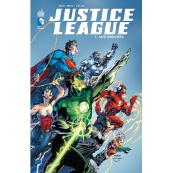 JUSTICE LEAGUE TOME 1 AUX ORIGINES