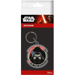 PORTE CLE STAR WARS FIRST ORDER RULE THE GALAXY PVC