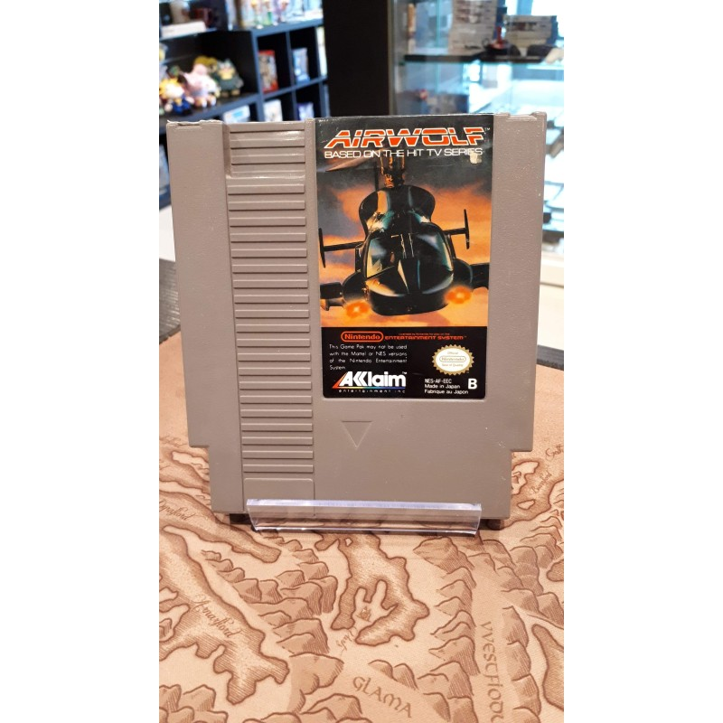 AIRWOLF OCCASION SUR NINTENDO NES VERSION PAL