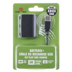 BATTERIE + CABLE DE RECHARGE POUR XBOX ONE CABLE 3M