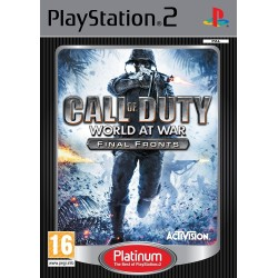 CALL OF DUTY WORLD AT WAR FINAL FRONTS COMPLET PLATINUM