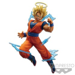 FIGURINE DRAGON BALL GOKU SSJ2 DOKKAN BATTLE 15 CM
