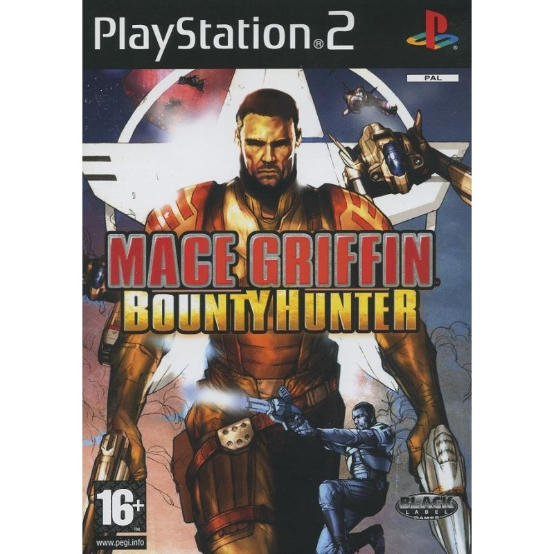 MACE GRIFFIN BOUNTY HUNTER PS2