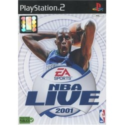 NBA LIVE 2001 COMPLET PS2