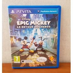 EPIC MICKEY LE RETOUR DES HEROS PS VITA