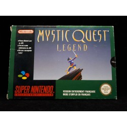 MYSTIC QUEST LEGEND CARTE SANS NOTICE OCCASION SUR SNES PAL VERSION
