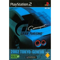 GRAN TURISMO CONCEPT 2002 TOKYO GENEVA COMPLET PS2
