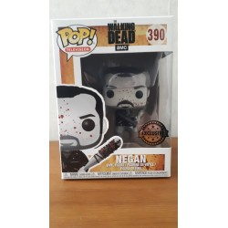 FUNKO POP NEGAN BLACK AND WHITE 390 LIMITED