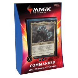 DECK COMMANDER 2020 MAELSTROM ESOTERIQUE MAGIC THE GATHERING IKORIA LA TERRE DES BEHEMOTHS