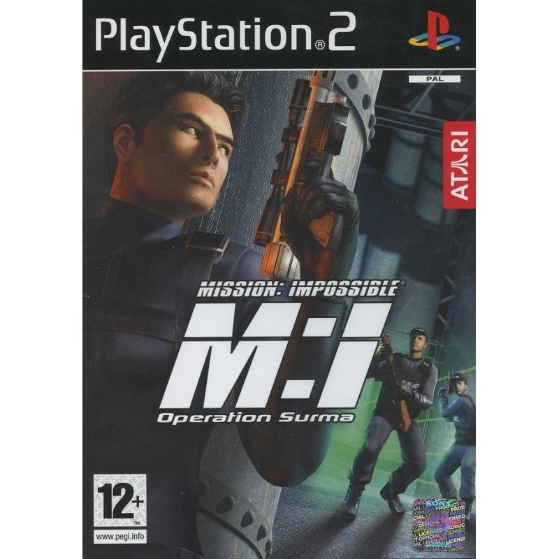 MISSION IMPOSSIBLE OPERATION SURMA COMPLET PS2