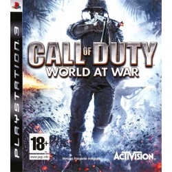 CALL OF DUTY WORLD AT WAR COMPLET PS3