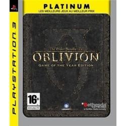 THE ELDER SCROLLS IV OBLIVION GOTY PLATINUM PS3