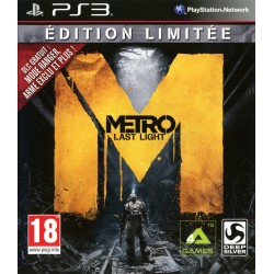 METRO LAST LIGHT EDITION LIMITEE COMPLET PS3
