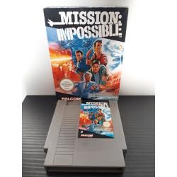 MISSION IMPOSSIBLE BOITE SANS NOTICE PAL FRA NES