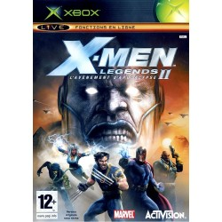 X-MEN LEGENDS 2 AVENEMENT APOCALYSE COMPLET XBOX