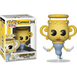 CUPHEAD FIGURINE FUNKO POP! GAMES LEGENDARY CHALICE N°314