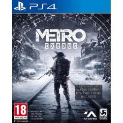 METRO EXODUS PAL UK PS4