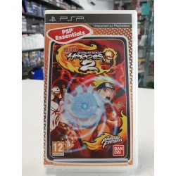 NARUTO ULTIMATE NINJA HEROES 2 PSP ESSENTIALS