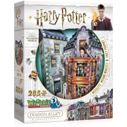 HARRY POTTER PUZZLE 3D BOUTIQUE WEASLEY 285 PCES