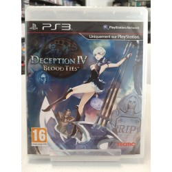 DECEPTION IV BLOOD TIES BLISTER PS3