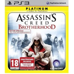 ASSASSINS CREED BROTHERHOOD PS3 COMPLET PLATINUM