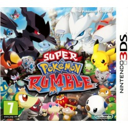 SUPER POKEMON RUMBLE OCCASION NINTENDO 3DS