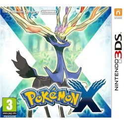 POKEMON X OCCASION SUR NINTENDO 3DS