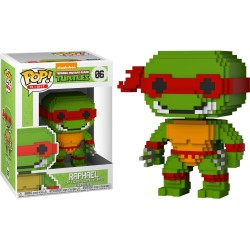 FUNKO POP TORTUES NINJA 8BIT RAPHAEL N°06