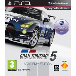 GRAN TURISMO 5 ACADEMY EDITION COMPLET PS3