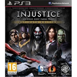 INJUSTICE GODS AMONG US ULTIMATE EDITION PS3 COMPLET