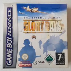 GLORY DAYS COMPLET GAME BOY ADVANCE