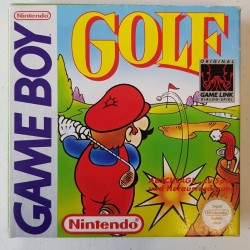 MARIO GOLF COMPLET EN BOITE NOE TBE GAME BOY