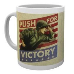 MUG CALL OF DUTY WW2 PUSH FOR VICTORY