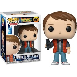 FUNKO POP MARTY IN PUFFY VEST 961