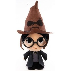 PELUCHE HARRY POTTER WITH SORTING HAT 18 CM