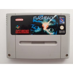 FLASHBACK SNES LOOSE PAL FAH ECRITURE ARRIERE