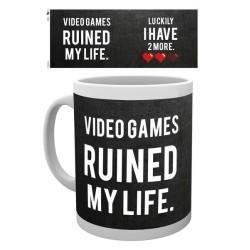 MUG GAMING RUINED MY LIFE 300ML