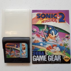 SONIC THE HEDGEHOG 2 CARTOUCHE + NOTICE
