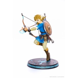 THE LEGEND OF ZELDA FIGURINE LINK BREATH OF THE WILD FIRTS 4 FIGURES