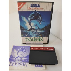 ECCO THE DOLPHIN COMPLET MASTER SYSTEM