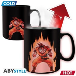 MUG THERMO REACTIF DRAGON BALL GOKU