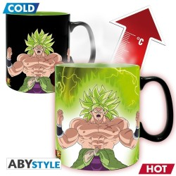 MUG THERMO REACTIF DRAGON BALL BROLY GOGETA 460ML