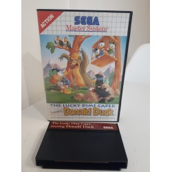 THE LUCKY DIME CAPER STARRING DONALD DUCK SANS NOTICE MASTER SYSTEM