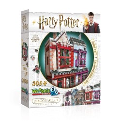 PUZZLE 3D HARRY POTTER BOUTIQUE QUIDDITCH SLUG AND JIGGERS 305 PCES