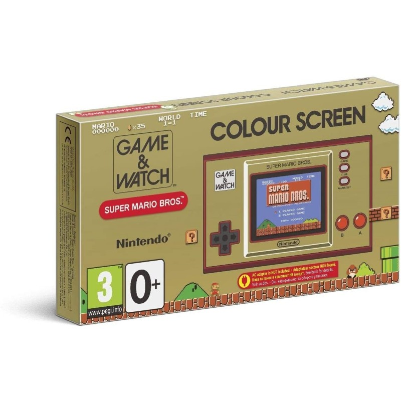 GAME & WATCH COLOUR SCREEN SUPER MARIO BROS